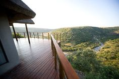 The most magnificent view!  Esiweni Lodge, South Africa