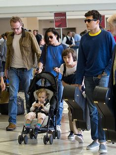 Jennifer Connelly with husband Paul Bettany and kids