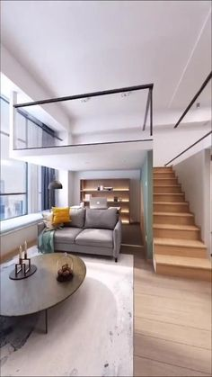 Loft House Design, Home Stairs Design, Small House Interior Design, Small Room Design, Room Design Bedroom, Home Room Design, Home Design Plans, Joanna Gaines, Loft Interiors