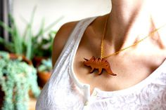 19 Prehistoric Pendant Necklaces Every Dinosaur Lover Will Want