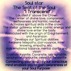 Soul Star Chakra connection between our past lives, soul purpose and our…