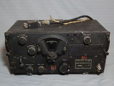 Vintage US Army Signal Corps BC-348-Q Radio Receiver Wells Gardner #WellsGardner