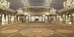 The Grand Ballroom at The Pierre  Close to how I pictured the Starlight Ballroom.