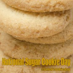 National Sugar Cookie Day - July 9, 2017