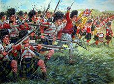 Gordan Highlanders ( 92nd Regiment) at Waterloo 1815