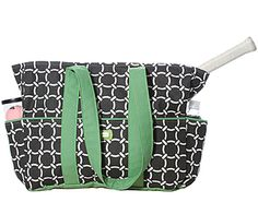 Amazingly Cute Tennis Bag. $110 from girly Twirly.