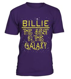 BILLIE THE BEST IN THE GALAXY    A GIFT FOR THE SPECIAL PERSON   It's a unique tshirt, with a special name!     HOW TO ORDER:   1. Select the style and color you want:   2. Click Reserve it now   3. Select size and quantity   4. Enter shipping and billing information   5. Done! Simple as that!   TIPS: Buy 2 or more to save shipping cost!     This is printable if you purchase only one piece. so dont worry, you will get yours.     Guaranteed safe and secure checkout via:   Paypal | VISA…