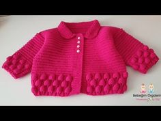 Moda Crochet, Teachers Pet, Crochet Baby Shoes, Crochet Videos, Baby Knitting, Pullover, Sewing, Youtube, Fashion