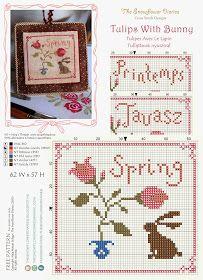 The Snowflower Diaries: Tulipes Avec Le Lapin