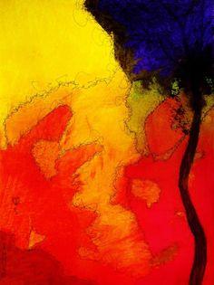 "Saatchi Art Artist Kyle Brock; Painting, ""Abstract Landscape #3(Sold)"" #art"