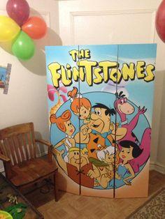 Flintstones room separator