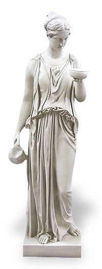 Hebe the Cupbearer (Goddess of Youth) - Daughter of Zeus and Hera - cupbearer to the gods - married to Hercules