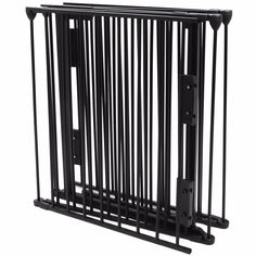 "(US Stock) Fireplace Fence Baby Safety Pet Gate Dog Barrier Enclose Indoor Home, 25""x30"", Black. This fence with an easy swing walk-through door will allow you to keep your fireplace, grill or stove area safe from your children or pet. It surrounds and provides maximum safety for use around fireplaces and wood burning stoves of any shape or size.This product will instantly complement any of your home's existing decor. Overall gate width: 122"".