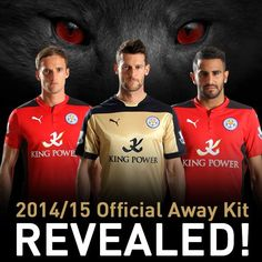Nice Day Sports: Puma Leicester City 14-15 Home Away Third and Goal...