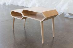 Hexa Coffee Table by Guilherme Vargas Garcia, via Behance
