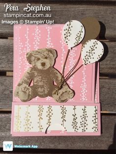 Stampin' Cat JOS004 Baby Bear