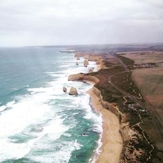 Helicopter ride #12apostles #greatoceanroad #melbourne #birdseyeview by amyy_ricks http://ift.tt/1ijk11S