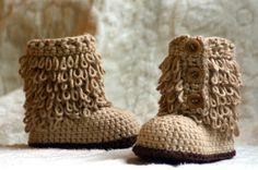 Cute Baby Boots, do they make them in Mommy sizes?