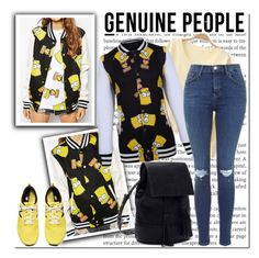 """""""Genuine People"""" by gabbyramosbr ❤ liked on Polyvore featuring Kate Spade and Genuine_People"""