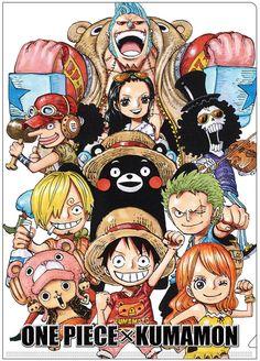 One Piece x Kumamon