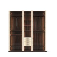 At Boca do Lobo we're very proud of our cabinet designs, they're among the pieces we truly believe to be inimitable. Italian Furniture Brands, Wooden Wardrobe, Tempered Glass Shelves, Creative Labs, Wardrobe Storage, Walk In, Wardrobe Design, Modern Cabinets, Wooden Tops
