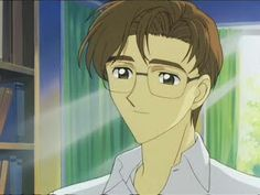 Fujitaka Kinomoto ::: Sakura and Toya's father ::: Card Captor Sakura Card Captor, Cardcaptor Sakura, Fans, Kawaii, Clamp, Daddy, Cartoons, Father, Happy Day