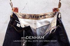 """Denham Launch All-American Cone Mill White Oak Virgin Denim""    http://www.denimfuture.com/read-journal/denham-launch-all-american-cone-mill-white-oak-virgin-denim"
