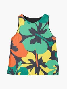 """Flower Print, Flower Pattern"" Sleeveless Top by MsD7 | Redbubble Flower Prints, Flower Patterns, Chiffon Tops, Crew Neck Sweatshirt, Athletic Tank Tops, Mini Skirts, Women's Fashion, Sweatshirts, Clothing"