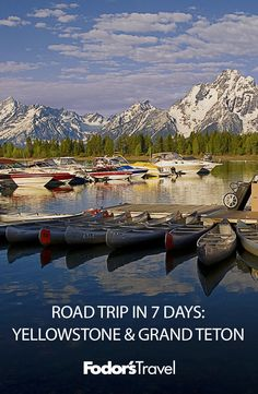 A visit to these two parks takes you through one of the last remaining natural ecosystems in this region of the world. Us Road Trip, Road Trip Hacks, National Parks Usa, Grand Teton National Park, Amazing Destinations, Travel Destinations, Slow Travel, California Travel, Summer Travel