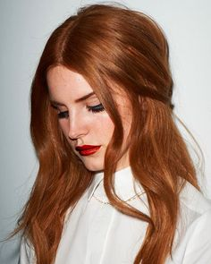 Lana Del Rey rich copper hair Hair 60 Fresh Spring Hair Colors For The REAL Fashionistas Hair Color Auburn, Red Hair Color, Light Auburn Hair, Color Red, Light Red Hair, Dark Auburn, Dark Red, Red Black, Ginger Hair Color