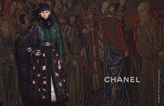 Тильда Суинтон для дома моды Chanel, 2013 г.