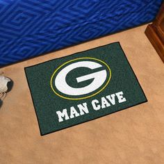 Green Bay Packers Man Cave Starter Rug