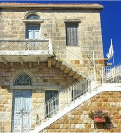 Traditional Lebanese house in Jezzine, Lebanon