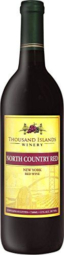NV Thousand Islands Winery North County Red Red Wine 750 ml *** See this great product.