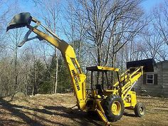 42 Mi Backhoe Ideas Backhoe Construction Equipment Tractors