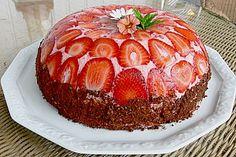 Erdbeerjoghurt - Kuppeltorte, ein sehr schönes Rezept aus der Kategorie Torten. Bewertungen: 15. Durchschnitt: Ø 3,8.
