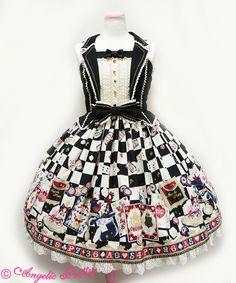 Angelic Pretty Magical Night Theater JSK /// ¥27,864 /// Bust: 88~112 cm Waist: 70~92 cm Length: 88 cm + 3 cm lace