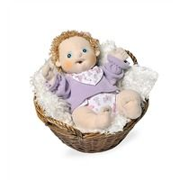 Rubens Barn%26#174; Dolls Baby Basket and Blanket Set