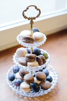 Idea for the candy buffet - Macarons | Frieda Theres