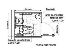 Sanitário Acessível NBR 9050