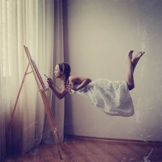 Levitation Lesson #2. Drawing. by Tatyana Chaiko on 500px