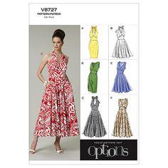 Misses' Dress-A5 (6-8-10-12-14) Pattern at Joann.com