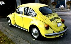 1973 VOLKSWAGON BEETLE CLASSIC. I had a blue for a while. Loved that car