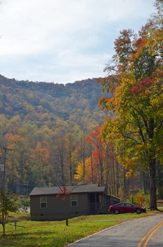 Fontana Village Resort near Fontana Lake - cabin rentals, fall colors