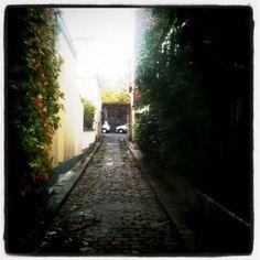 Photo prise le 26 octobre 2011.  Rue Achille, 75020, Paris.
