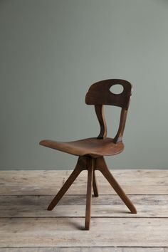 Extremely rare 1920s Ernst Rockhausen chair