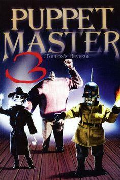 Puppet Master Toulon's Revenge Film 1990, Horror Films, Revenge, Puppets, Cool Things To Buy, Movie Posters, David, Dolls, Ebay
