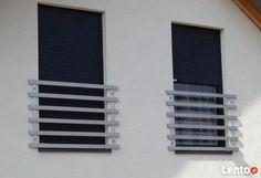 Balustrada balkonowa, tarasowa (Ogrodzenia nowoczesne)