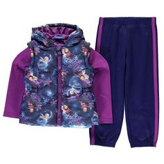 Girls Disney Frozen Gilet Set