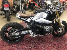 For Sale 2016 BMW R9T / RNINET / R nine T / R9T / R 9 T ) Up for sale is this one owner, tastefully and professionally customized 2016 BMW R9T with only 7528 miles. This bike has had it's 6000 mile service and has full synthetic oil. This is a highly unique 1200cc, 2 cylinder air&oil cooled, one-of-a-kind cafe racer / scrambler designed and engineered by BMW. #bmw #caferacerforsale #caferacer #bmwcaferacer